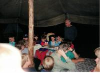 Summer camp for the children from the Vinohrady congregation, Mysliv 1995