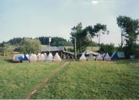 Camping with the children from the Vinohrady congregation, Mysliv 1995