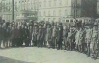 The Red Cross organized the children´s trip to Switzerland, Brno 1946