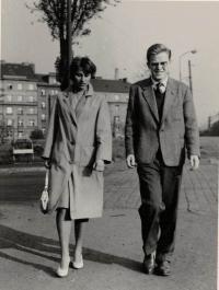 Anna Doležalová a Jaromír Dus, Prague about 1959