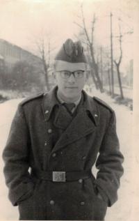 Jaromír Dus, military service, České Budějovice 1063