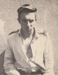 In the army; 1965