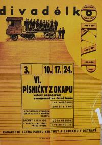 In 1965 the name of the theatre as well as its organizer and place of activity changed from Divadélko pod okapem to Divadlo okap