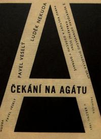 """""""Rain Gutter Theatre"""" (Divadélko Okap) - a poster from 1966"""