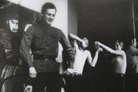 Waterloo Theatre - musical Son of the Regiment, 1969