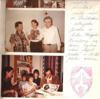 Family photo frome Roubal family chronicle, around 1983-84