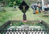 Grave of political prisoners martyred in Jáchymov mines