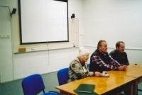 Meeting in Uničov, 2007, Miroslav Hampl in the middle