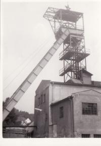 Jáchymov,  mine Svornost-1968