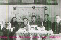 rodina-babička,matka Veronika, Stanislav Lekavý, bratr Štěpán, otec Jan, dědeček