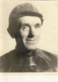 Ludví Škultéty Sr. in the miner's clothing