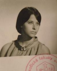 Kateřina Dejmalová - photo from the study report