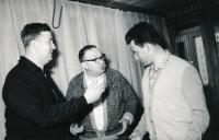 Riesel Petr - a bratr Jan, Jeseníky 1964