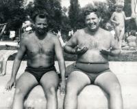 Riesel Petr - a bratr Jan, konec 60. let
