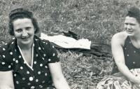 Riesel Petr - maminka Irena Rieselová po 1945