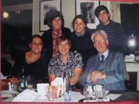 S dcerou, ženou a přáteli