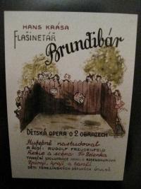 Plakát ke hře Brundibár