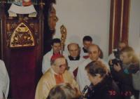 11 - January 1990 - inauguration of the bishop Očenášek