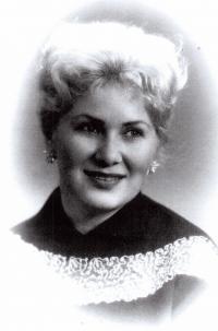 Věra  in 1954