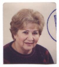 Věra Holuběva in 2008