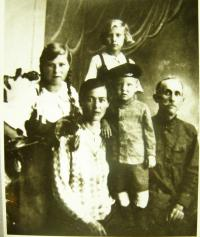 Biněvsky-Morozovič Family before arrival to Buzuluk