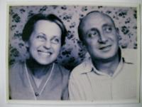 Parents Rudolf and Markéta Auerbach in 1942 - the last photo before their deportation to Terezín