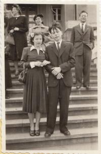 1950, wedding of Asaf Auerbach