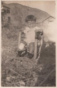 1929, Asaf in Israel in kibuc