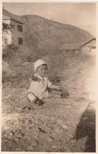 Asaf in Izrael in kibuc cca 1929