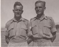 AT course, Baalbek, 1941, Jan Koukol on the left