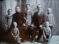 Slávka Ficková's grandparents