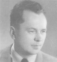 Husband Václav Altman, 1950
