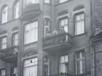 Marie Supikova´s home in Poznan - picture from 1967