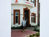 Marie Supikova´s home in Boitzenburg - picture from 1996