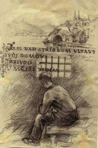 author cellmate Oldřich Vodseďálek