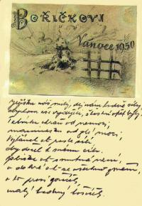 Letter from the prison addressed to his son Bořivoj