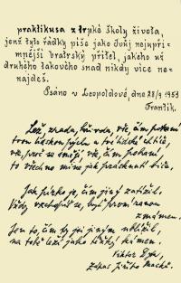 Leopoldov memory book- author is his cellmate František Nesvadba (2.)