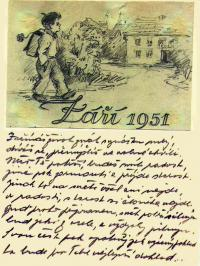 Letter from the prison to his family