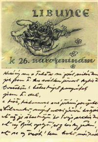 Letter from the prison to his wife