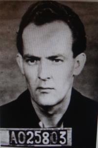 Vojtěch Klečka, prison photo