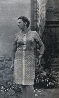 Marie Králová in January 1969
