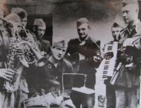 the band of the Jan Žižka brigade