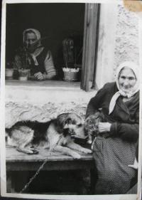 Grandmother Vrabcová