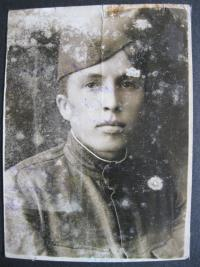 Brother Pavel in the uniform