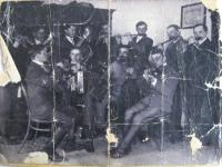 Orchestra of captives in Ivanovice, 1916