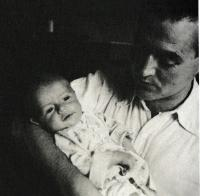 B. Stern with the first son Jan, 1941