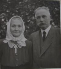 Alois Frank's parents - Alois and Josefa (née Opravilová) Frankovi