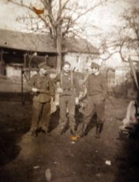 Mr. Drong near Nysa in 1945