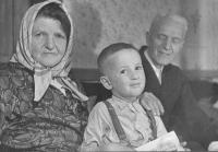 Mother Marie, nephew, father Alois