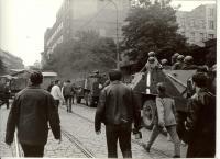 1968, srpen, před Rozhlasem